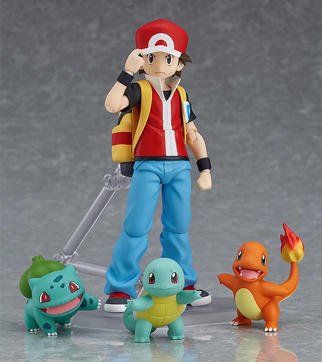 Pokemon figma figure Red-0