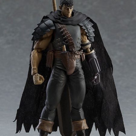 Berserk Figma Action Figure Guts Black Swordsman Ver. Repaint Edition-5450