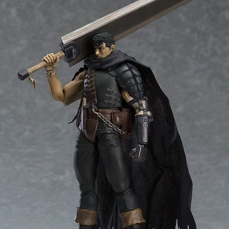 Berserk Figma Action Figure Guts Black Swordsman Ver. Repaint Edition-5449