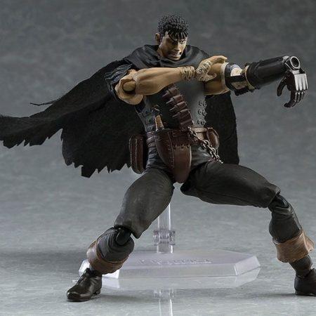 Berserk Figma Action Figure Guts Black Swordsman Ver. Repaint Edition-5452