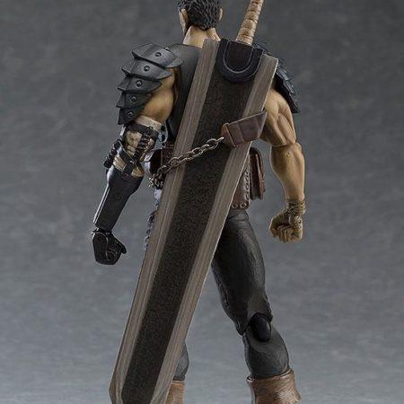 Berserk Figma Action Figure Guts Black Swordsman Ver. Repaint Edition-5453