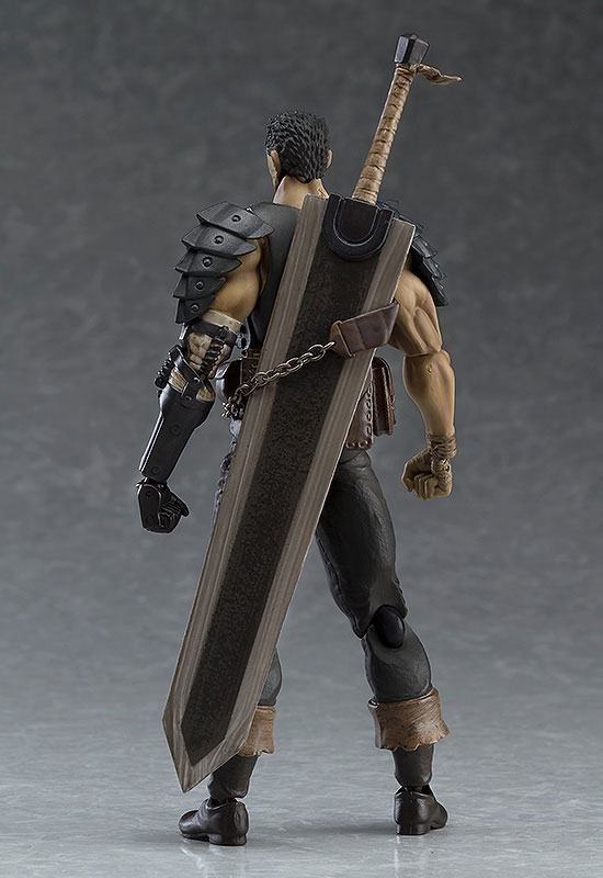 Berserk Figma Action Figure Guts Black Swordsman Ver. Repaint Edition-5453
