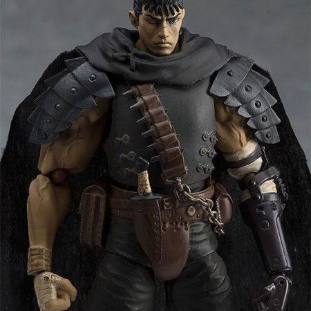 Berserk Figma Action Figure Guts Black Swordsman Ver. Repaint Edition-5455