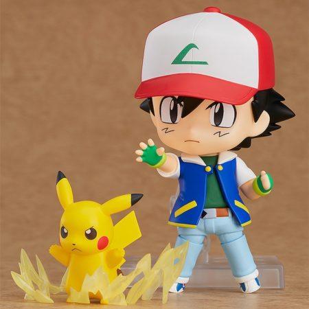 Pokemon Nendoroid Ash & Pikachu-5535