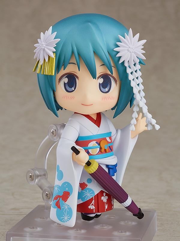 Puella Magi Madoka Magica The Movie Nendoroid Miki Sayaka Maiko Ver.-0