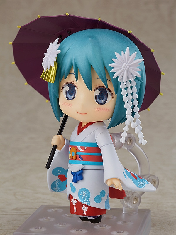 Puella Magi Madoka Magica The Movie Nendoroid Miki Sayaka Maiko Ver.-5580