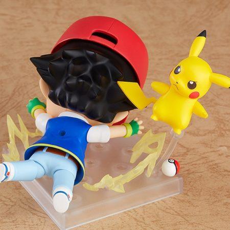 Pokemon Nendoroid Ash & Pikachu-5536