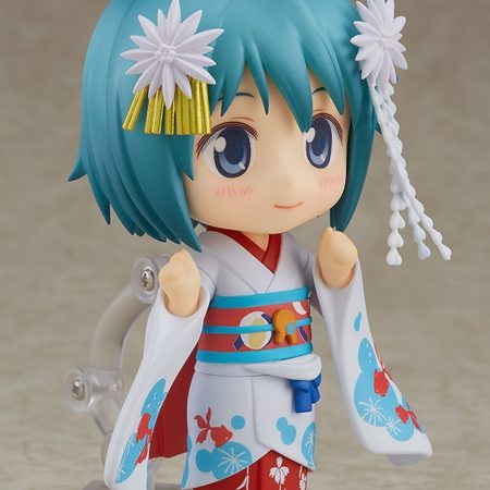 Puella Magi Madoka Magica The Movie Nendoroid Miki Sayaka Maiko Ver.-5579