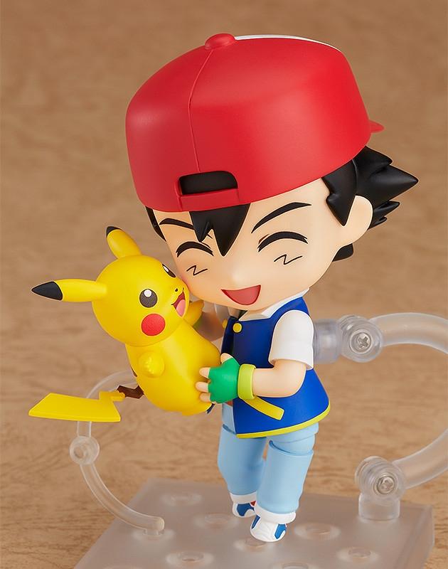 Pokemon Nendoroid Ash & Pikachu-5538