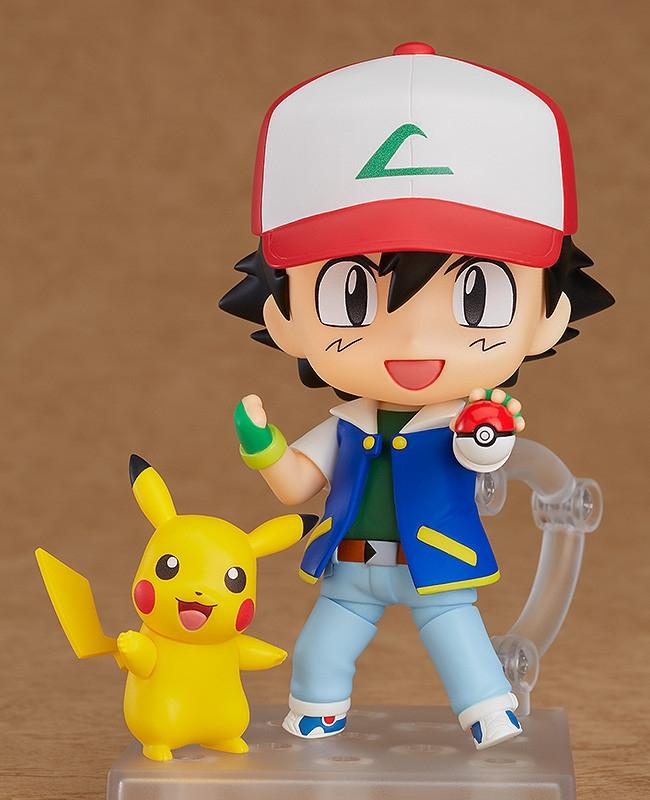 Pokemon Nendoroid Ash & Pikachu-0