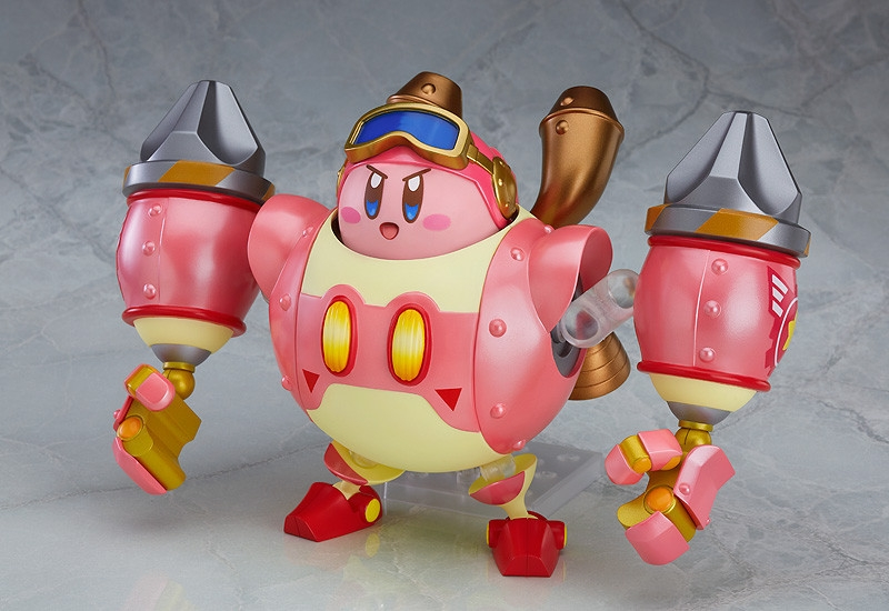 Nendoroid More: Planet Robobot Armor & Kirby-0
