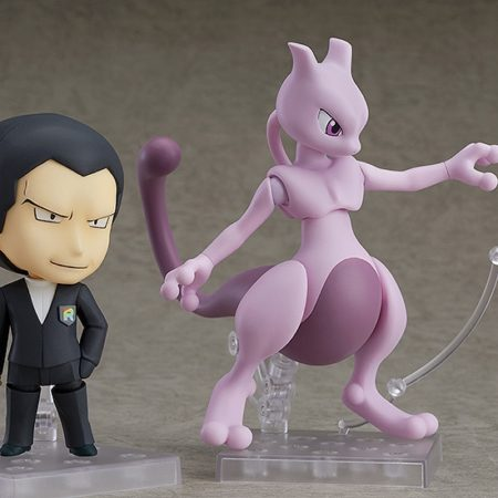 Pokemon Nendoroid Giovanni & Mewtwo-6194