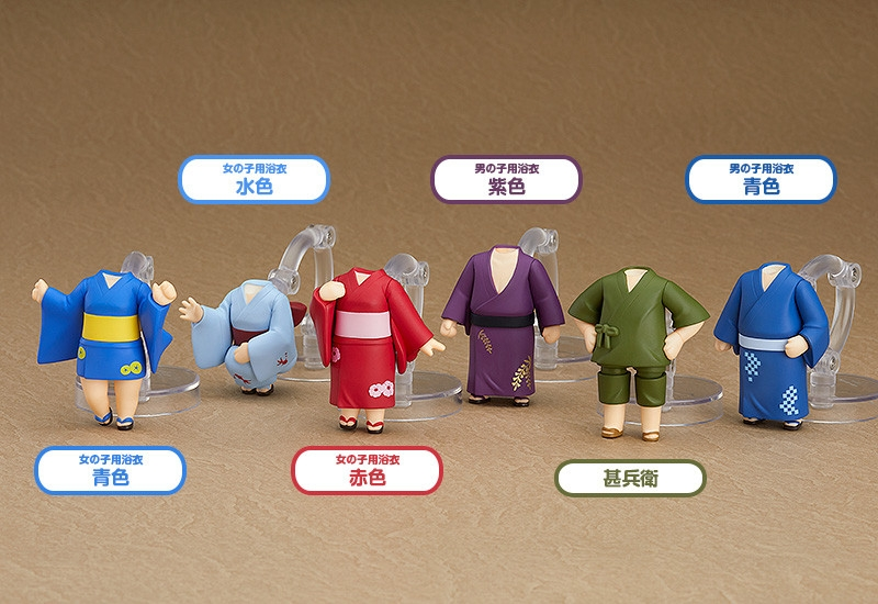 Nendoroid More: Dress Up Yukatas-0