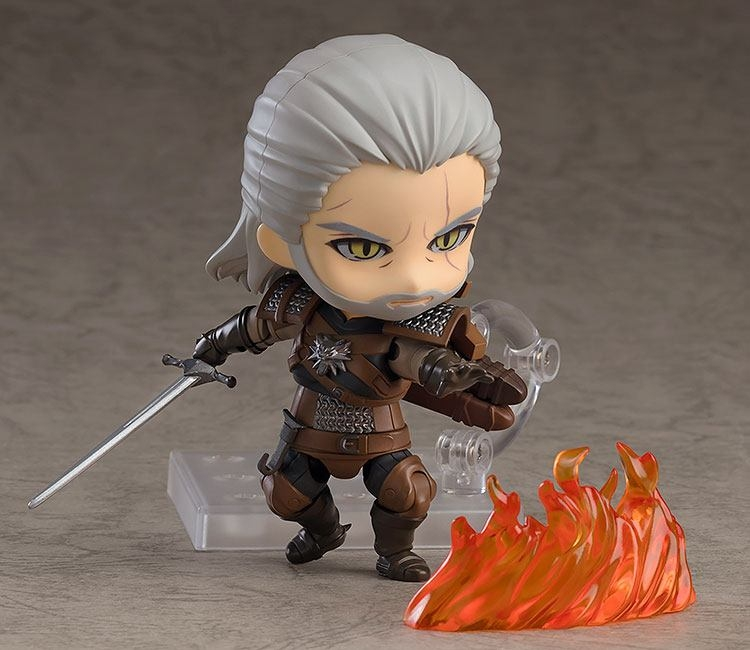 The Witcher 3 Wild Hunt Nendoroid Geralt (Exclusive base version)-6409