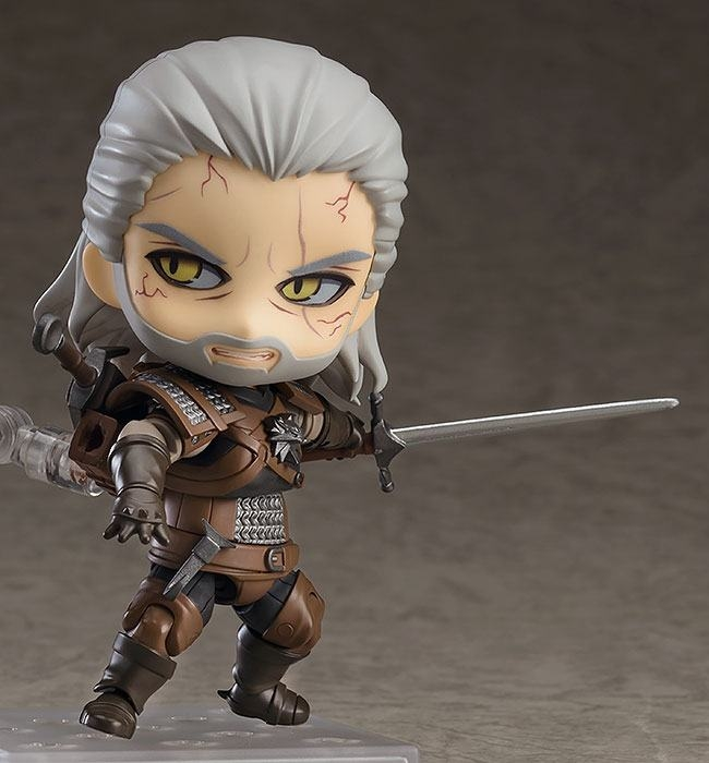 The Witcher 3 Wild Hunt Nendoroid Geralt (Exclusive base version)-6410