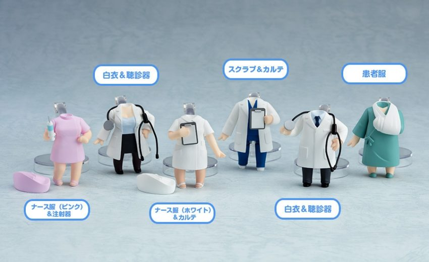 Nendoroid More 6-pack Dress-Up Clinic-0