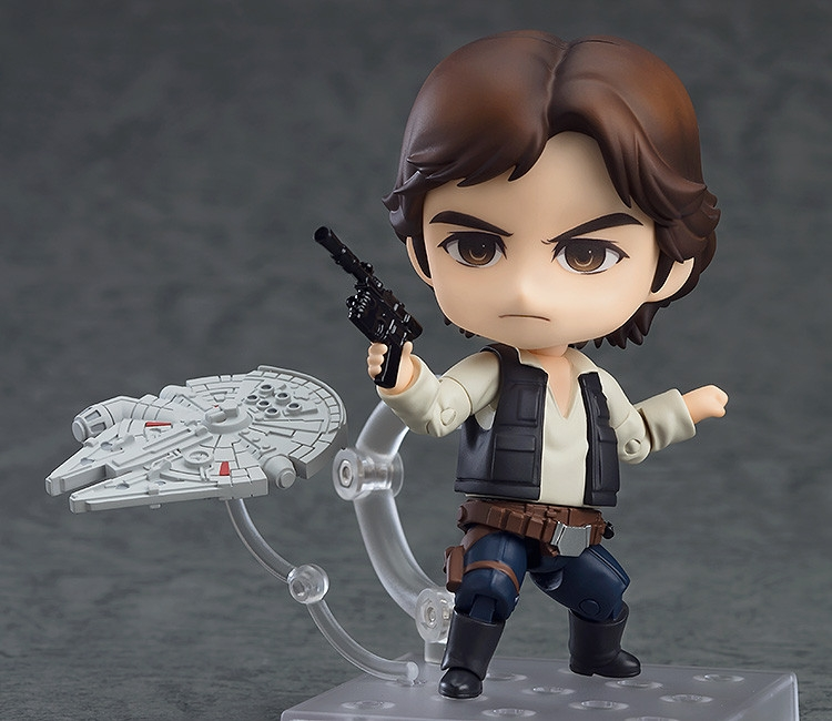 Star Wars Episode 4 A New Hope Nendoroid Han Solo-0