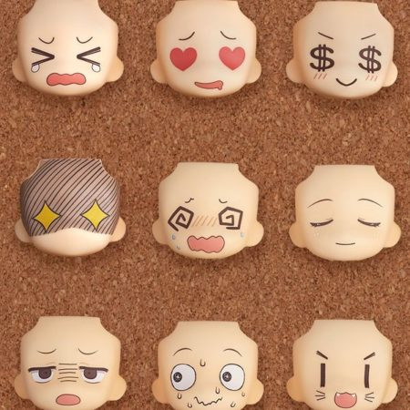 Nendoroid More Decorative Parts Face Swap 01 & 02 Selection-0