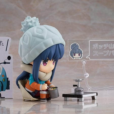 YuruCamp (Laid-Back Camp) Nendoroid Rin Shima DX Version-7114