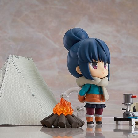 YuruCamp (Laid-Back Camp) Nendoroid Rin Shima DX Version-7112