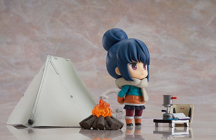 YuruCamp (Laid-Back Camp) Nendoroid Rin Shima DX Version-7112