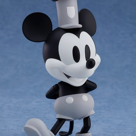 Steamboat Willie Nendoroid Mickey Mouse: 1928 Ver. (Black & White)-7198