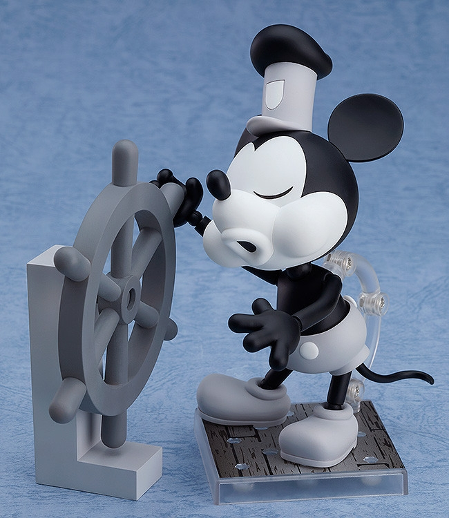 Steamboat Willie Nendoroid Mickey Mouse: 1928 Ver. (Black & White)-7197