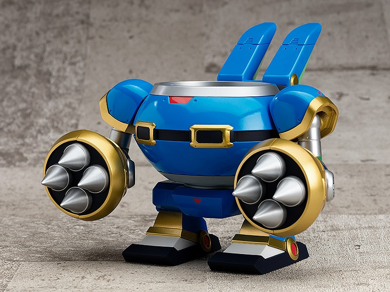 Mega Man X Nendoroid More Rabbit Ride Armor-0