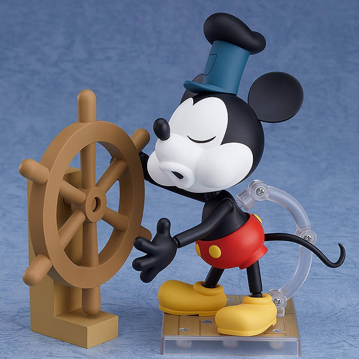 Steamboat Willie Nendoroid Mickey Mouse: 1928 Ver. (Color)-7200
