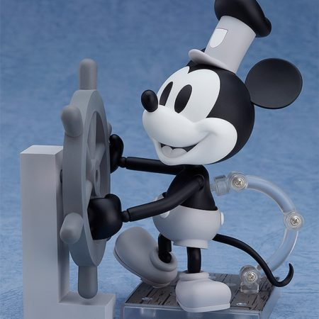 Steamboat Willie Nendoroid Mickey Mouse: 1928 Ver. (Black & White)-0