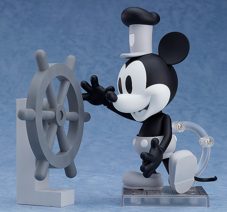 Steamboat Willie Nendoroid Mickey Mouse: 1928 Ver. (Black & White)-7196