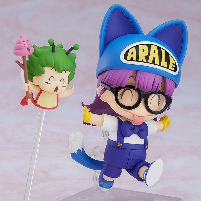 Dr. Slump Nendoroid Arale Norimaki Cat Ears Ver. & Gatchan-7190
