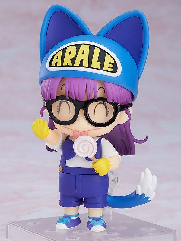 Dr. Slump Nendoroid Arale Norimaki Cat Ears Ver. & Gatchan-7192