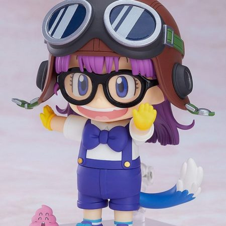 Dr. Slump Nendoroid Arale Norimaki Cat Ears Ver. & Gatchan-7194
