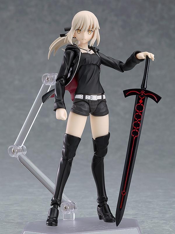 Fate/Grand Order Figma Saber/Altria Pendragon (Alter) Shinjuku Ver-0