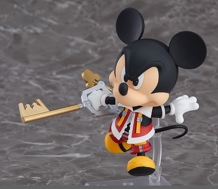 Kingdom Hearts II Nendoroid King Mickey-7677