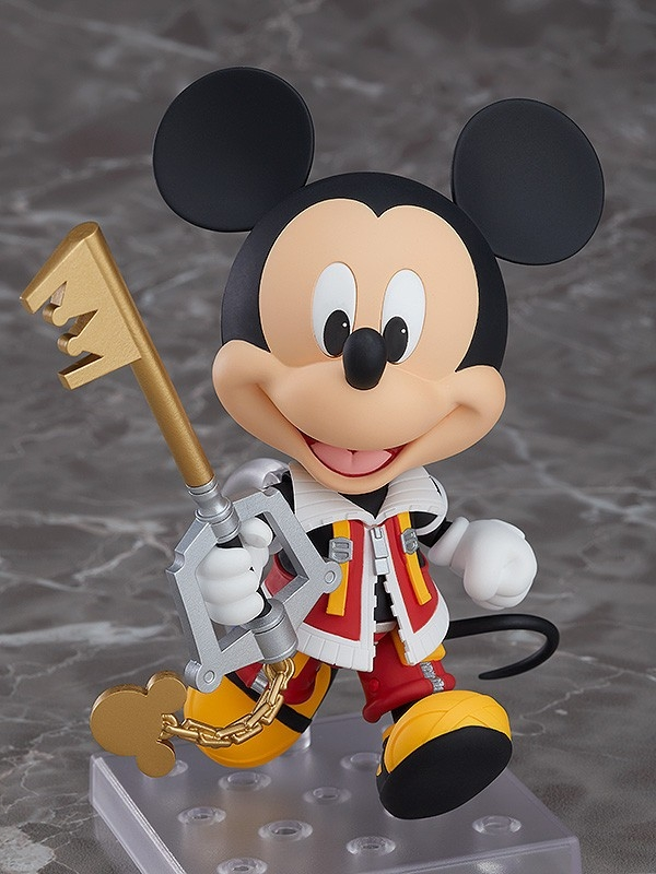 Kingdom Hearts II Nendoroid King Mickey-0