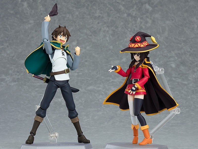 Displayed with figma Megumin (sold separately)