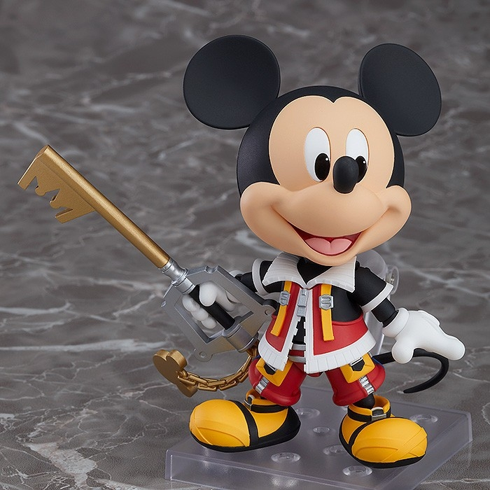Kingdom Hearts II Nendoroid King Mickey-7675