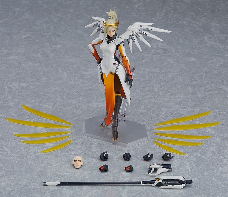 Overwatch Figma Action Figure Mercy-7755