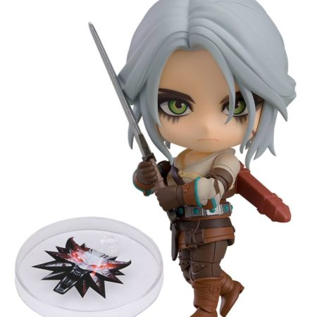 The Witcher 3 Wild Hunt Nendoroid Ciri (Exclusive base version)-0