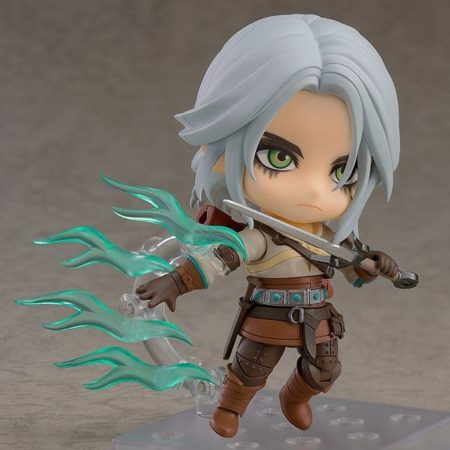The Witcher 3 Wild Hunt Nendoroid Ciri (Exclusive base version)-7978