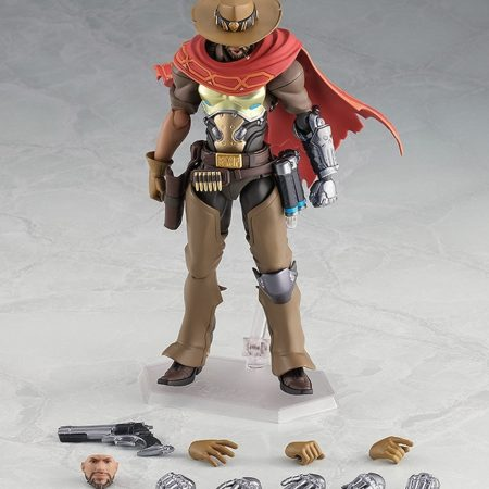 Overwatch Figma Action Figure McCree-8157