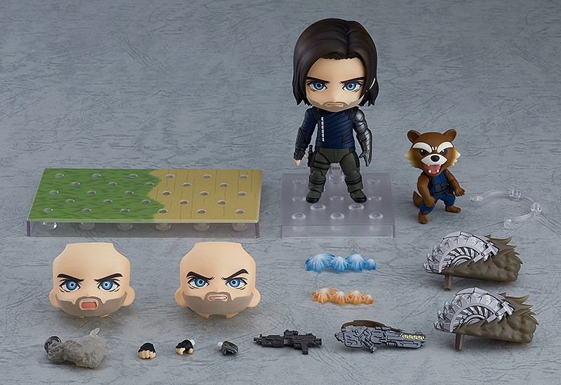 Avengers Infinity War Nendoroid Winter Soldier Infinity Edition DX Ver.-0