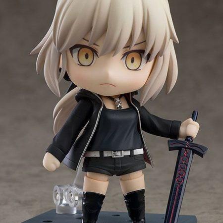 Fate/Grand Order Nendoroid Saber/Altria Pendragon Shinjuku Ver. & Cuirassier Noir-8226