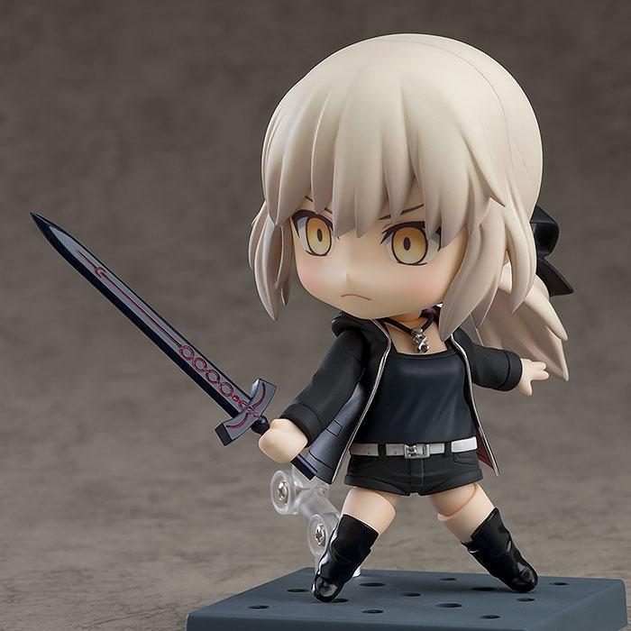 Fate/Grand Order Nendoroid Saber/Altria Pendragon Shinjuku Ver. & Cuirassier Noir-8227
