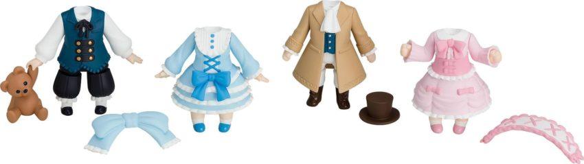 Nendoroid More 4-pack Decorative Parts for Nendoroid Figures Dress-Up Lolita-0