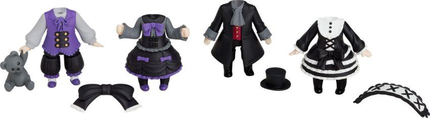 Nendoroid More 4-pack Decorative Parts for Nendoroid Figures Dress-Up Gothic Lolita-0