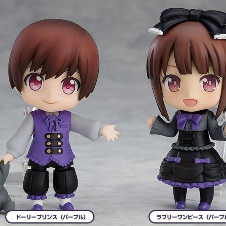 Nendoroid More 4-pack Decorative Parts for Nendoroid Figures Dress-Up Gothic Lolita-8463