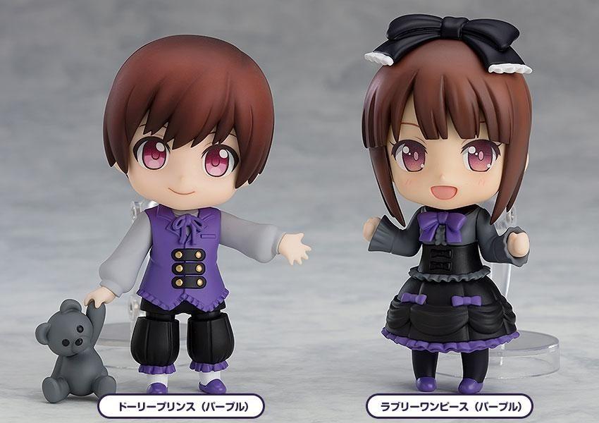Nendoroid More 4-pack Decorative Parts for Nendoroid Figures Dress-Up Gothic Lolita-8463